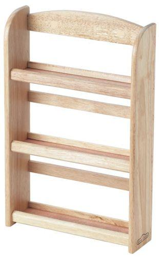 Wooden Wall Spice Rack