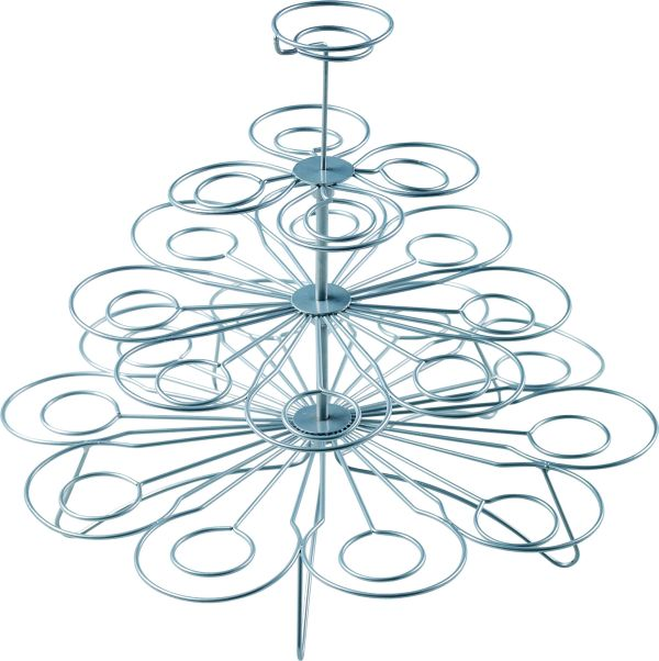 Cupcake Holder Stand. Jusalpha 4 Tier Square Acrylic Cupcake Tower ...