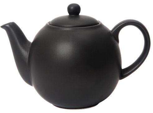 Matt Black London Pottery Tea Pot