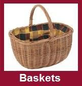 Wicker Hand Baskets and Shopping Trolleys