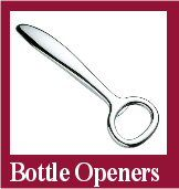 Bottle Openers and Champagne Cork Removers