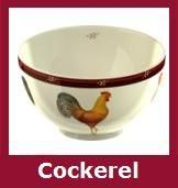 Cockerel Breakfast Crockery