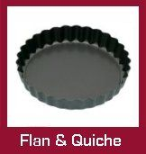 Quiche and Flan Tins