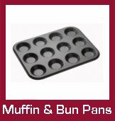 Non-Stick Muffin and Bun Pans