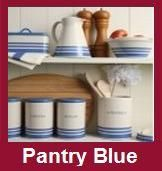 Pantry Blue Kitchen Accessories