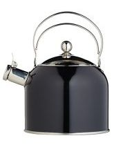 2.3L Black Whistling Kettle