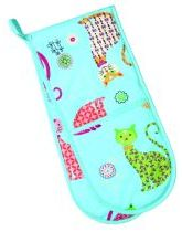 Cool Cats Double Oven Gloves