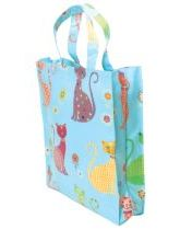 Cool Cats PVC Shopping Bag