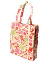 Love PVC Shopping Bag