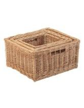 Wicker Storage Basket Set