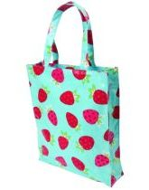Strawberry PVC Shopping Bag