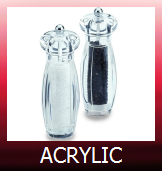 Acrylic Salt and Pepper Mills