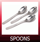 Spoons, Teaspoons and Dressing Spoons