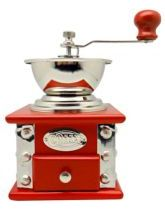 Red Coffee Grinder