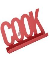 Red Metro Kitchen Cookbook Stand