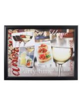 Cheese & Wine Lap Tray