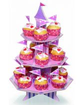 Miniamo 'Fluttercup and Friends' Three Tier Magical Castle Cupcake Kit
