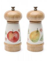 Orchard Salt and Pepper Mill Set