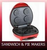 Sandwich, Pie and Burger Makers