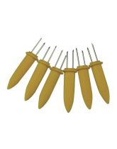 Pack of 6 Corn on the Cob Skewers