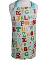 Child Size Alphabet PVC Apron