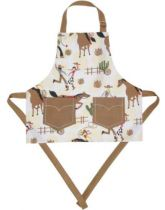 Child Size Cowboy and Cowgirl PVC Apron