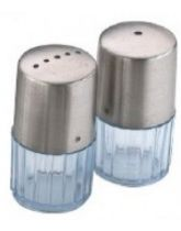Glass Base Cruet Set