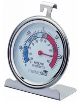 Large Stainless Steel Fridge Thermometer