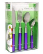 Purple Cutlery