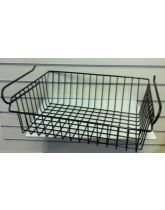 Black Undershelf Basket