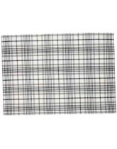 Traditional Tea Towel - Black Check