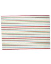 Traditional Tea Towel - Multi Colour Stripe
