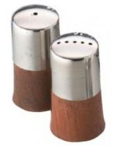 Wooden Base Cruet Set