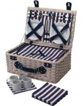 Coolmovers Lighthouse Four Person Fitted Picnic Basket