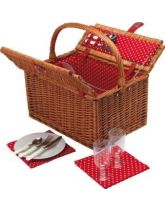 Coolmovers Secret Garden Two Person Fitted Picnic Basket