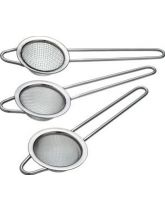 Sweetly Does It Set of 3 Assorted Sieves