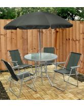 Garden Dining Set - 6 Piece
