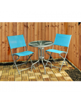 Blue Bistro Patio Garden Furniture
