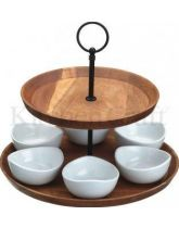 Artesa Appetiser Two Tier Serving Set