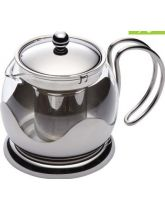 Le'Xpress Glass 550ml Small Infuser Teapot