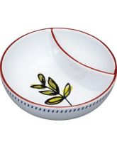 World of Flavours Mediterranean Ceramic Olive Bowl