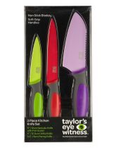 Taylor's Eye Witness 3 Piece Kitchen Knife Set