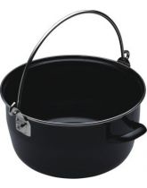 Home Made Large Black Maslin Pan