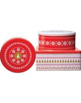 Merry Little Christmas Set of Three Cake Tins
