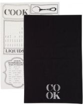 Kitchen Craft  Cook Set of 2 Tea Towels