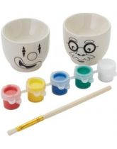 Paint Your Own Egg Cups Set