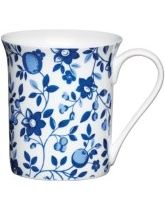 Kitchen Craft Fine Bone China Trail Flute Mug