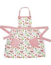 Santa & Friends Fitted Ladies Apron