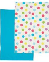 Kitchen Craft Set of 2 Sherbert Patterned Tea Towels