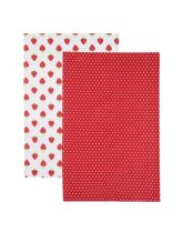 Kitchen Craft Strawberry Set of 2 Tea Towels